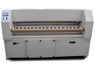 Textile heat fixation machine
